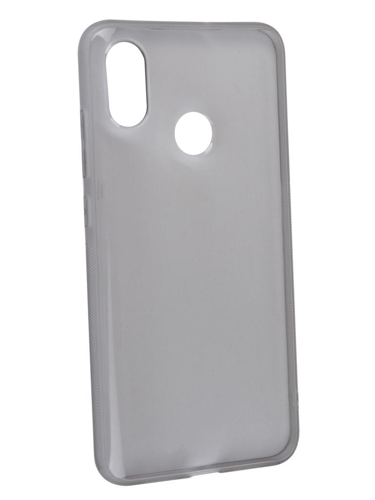 Чехол Brosco для Xiaomi Mi 8 Silicone Black XM-MI8-NEWTPU-BLACK