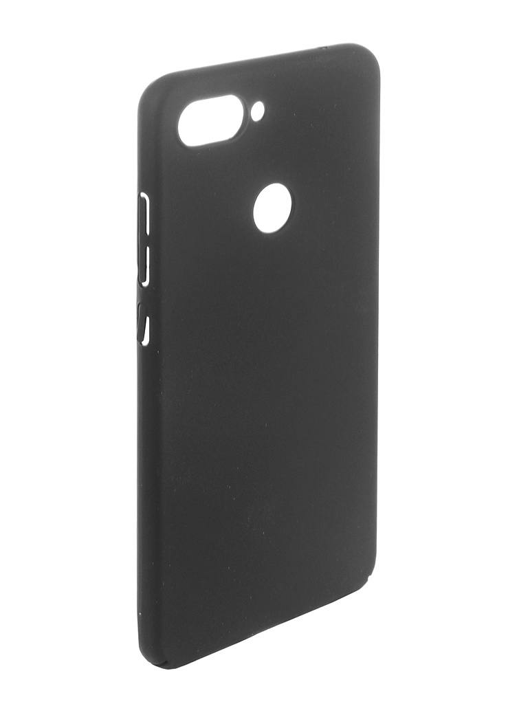 Аксессуар Чехол Brosco для Xiaomi Mi 8 Lite Black XM-MI8L-4SIDE-ST-BLACK