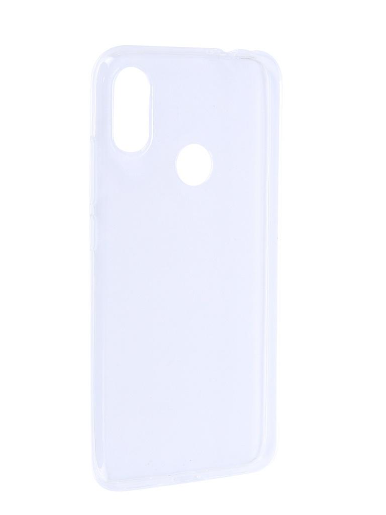 Чехол Brosco для Xiaomi Redmi Note 7 Silicone Transparent XM-RN7-TPU-TRANSPARENT