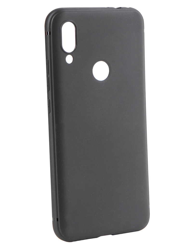 Аксессуар Чехол Brosco для Xiaomi Redmi Note 7 Black XM-RN7-COLOURFUL-BLACK