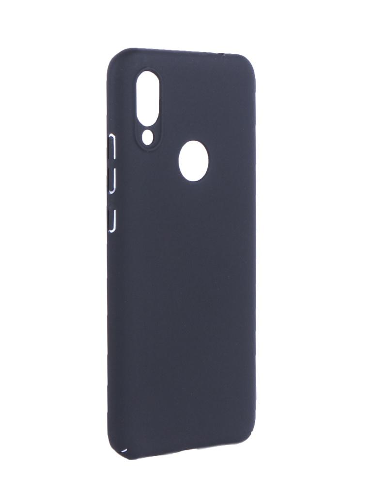 Аксессуар Чехол Brosco для Xiaomi Redmi 7 Soft Touch Black XM-R7-4SIDE-ST-BLACK