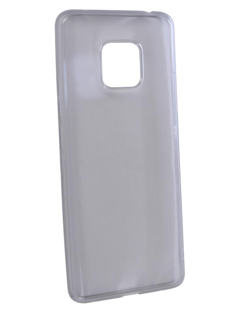 Чехол Brosco для Huawei Mate 20 Pro Silicone Black HW-M20P-TPU-BLACK