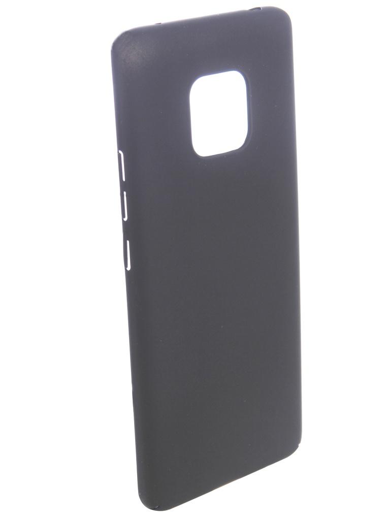 Аксессуар Чехол Brosco для Huawei Mate 20 Pro Black HW-M20P-4SIDE-ST-BLACK