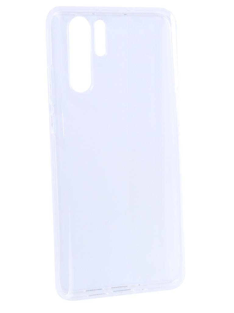 Чехол Brosco для Huawei P30 Pro Silicone Transparent HW-P30P-TPU-TRANSPARENT