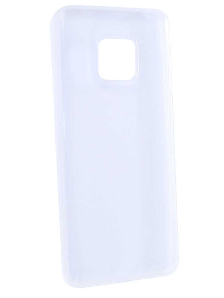Аксессуар Чехол Brosco для Huawei Mate 20 Pro Silicone Transparent HW-M20P-TPU-TRANSPARENT gz6521 transparent adhesive tape transparent 2 pcs