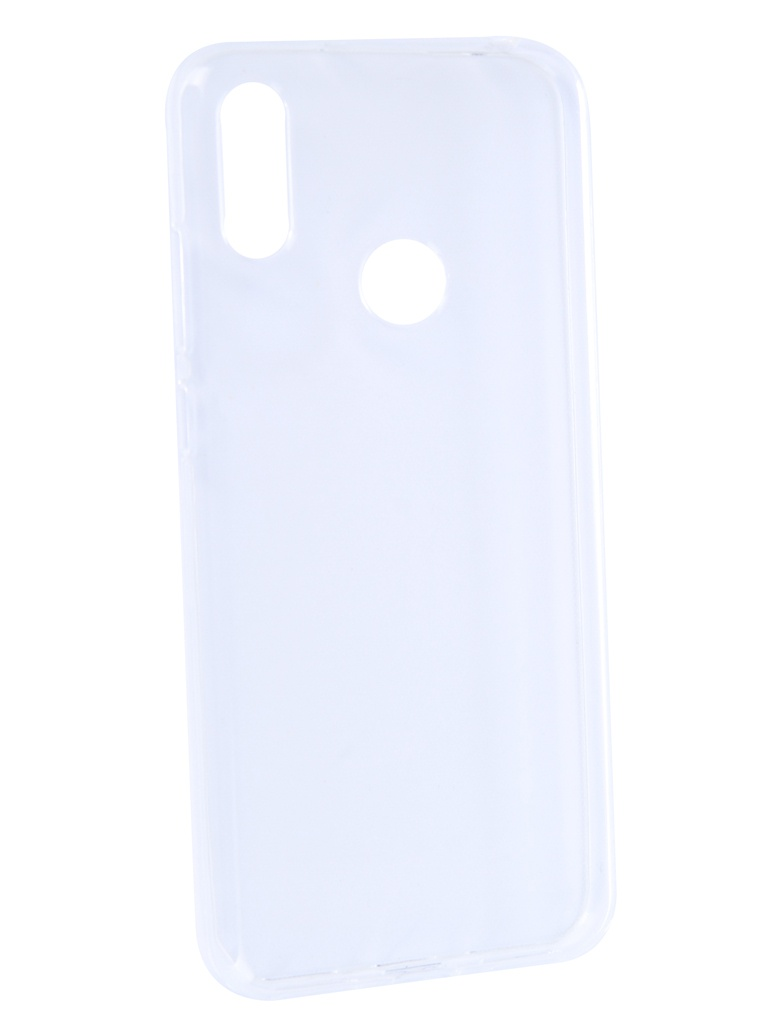 Аксессуар Чехол Brosco для Huawei Y6 2019 Silicone Transparent HW-Y6(9)-TPU-TRANSPARENT