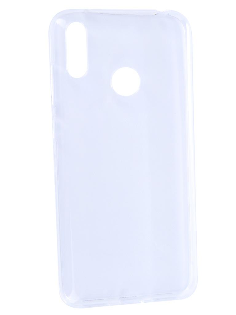 Чехол Brosco для Huawei Y7 2019 Silicone Transparent HW-Y7(9)-TPU-TRANSPARENT