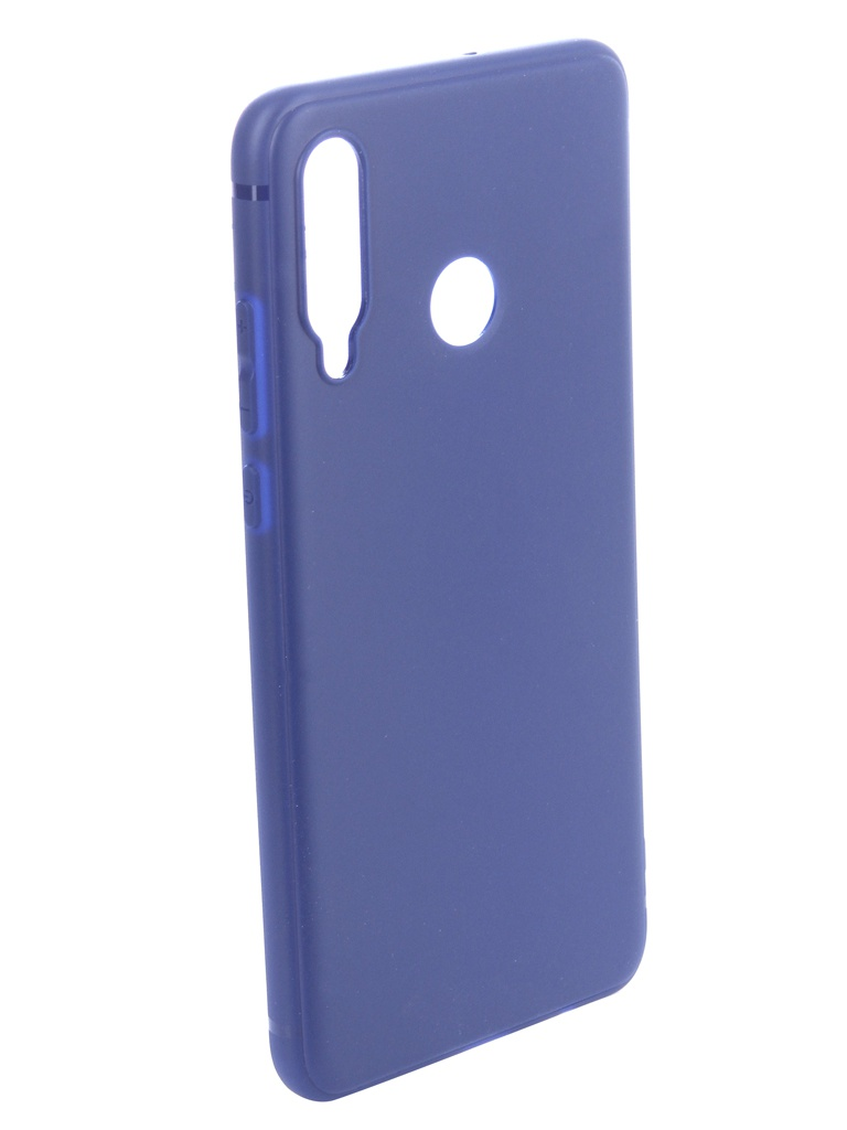 Чехол Brosco для Huawei P30 Lite Blue HW-P30L-COLOURFUL-BLUE