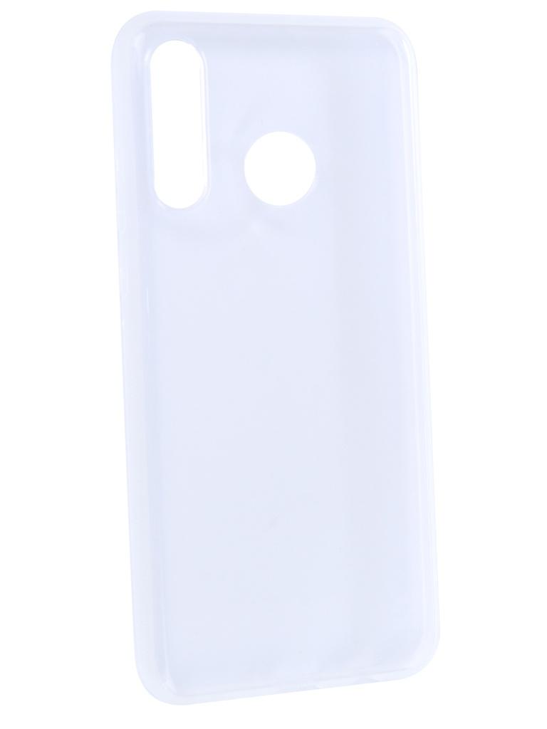 Чехол Brosco для Huawei P30 Lite Silicone Transparent HW-P30L-TPU-TRANPSARENT