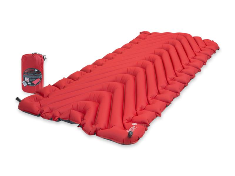 Коврик Klymit Insulated Static V Luxe Red 06LiRd01D коврик klymit static v2 green 06s2gr02c