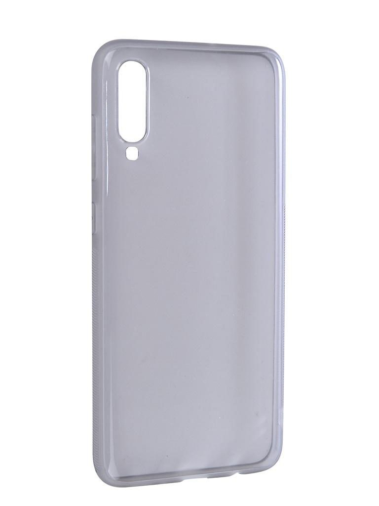 Чехол Brosco для Samsung Galaxy A70 Silicone Black SS-A70-TPU-BLACK