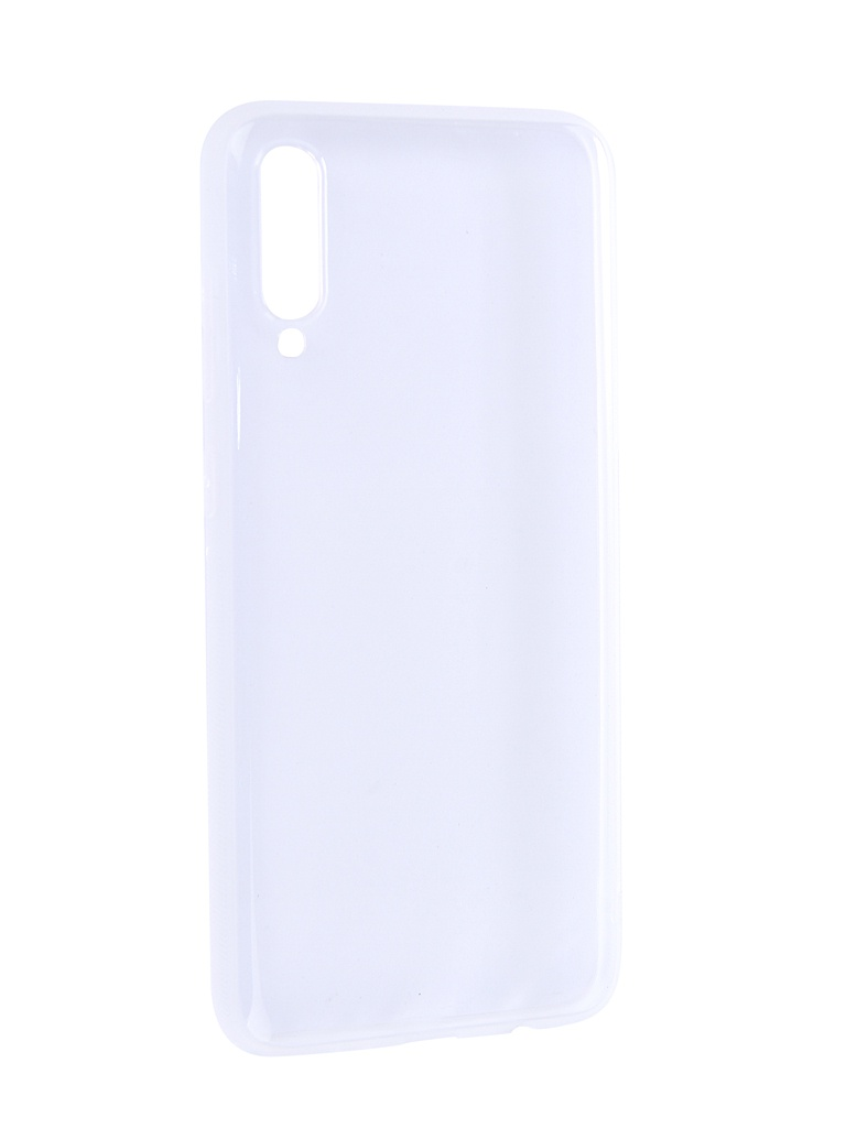 Аксессуар Чехол Brosco для Samsung Galaxy A70 Silicone Transparent SS-A70-TPU-TRANSPARENT