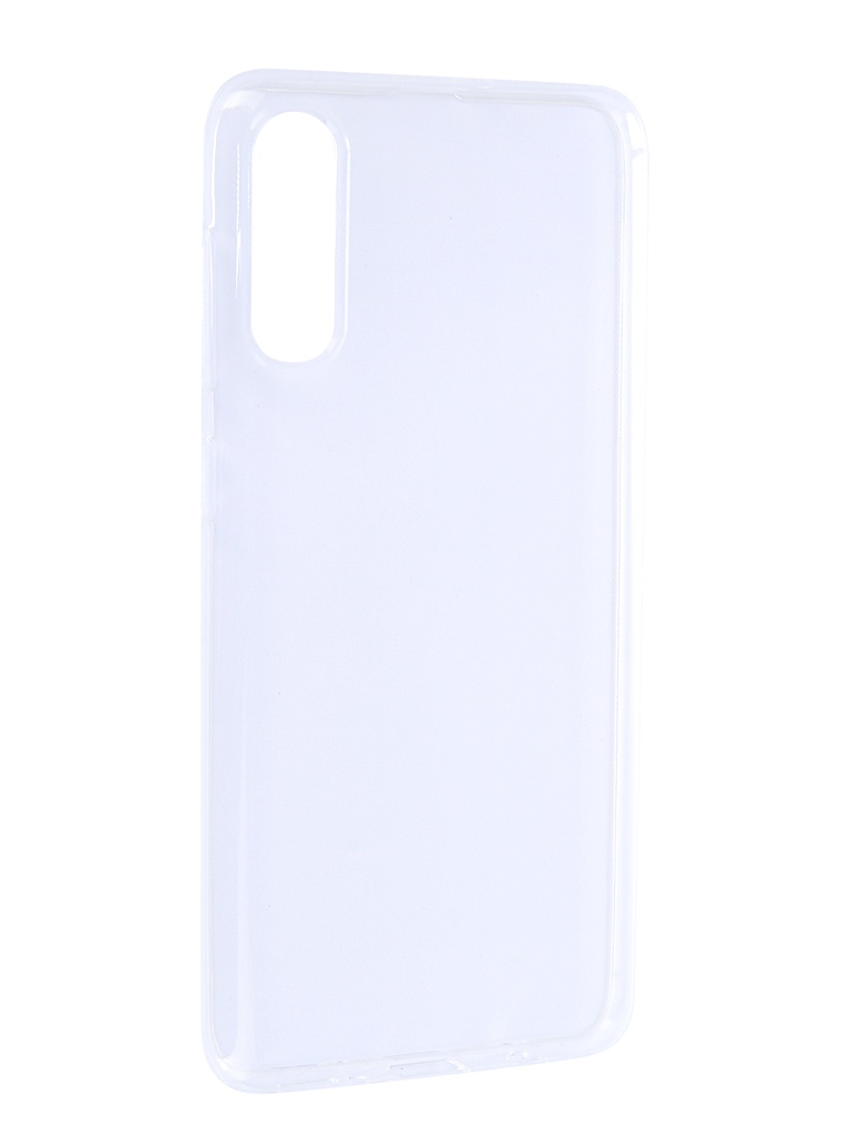 Чехол Brosco для Samsung Galaxy A50 Silicone Transparent SS-A50-TPU-TRANSPARENT