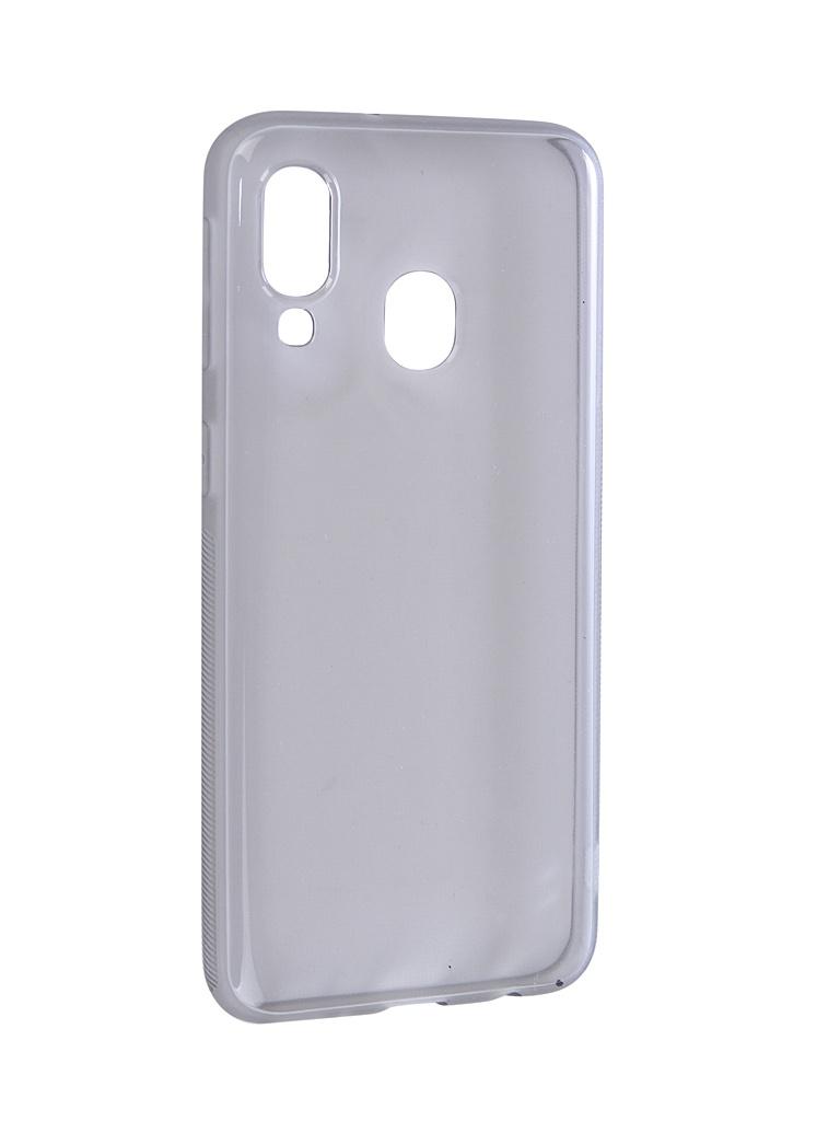 Чехол Brosco для Samsung Galaxy A40 Silicone Black SS-A40-TPU-BLACK