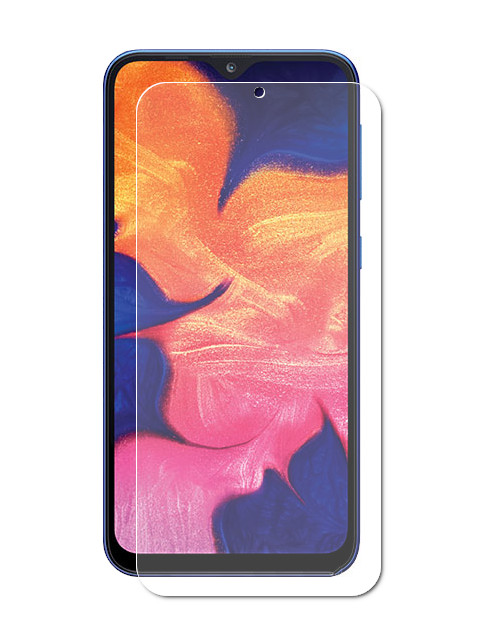 Аксессуар Защитное стекло Brosco для Samsung Galaxy A20 0.2mm SS-A20-SUPERSLIM-GLASS original 10 1 inch teclast 98 mtk6753 octa core 4g phone call tablet 10 1 android 6 2gb 32gb dual bands wifi gps fdd lte phable