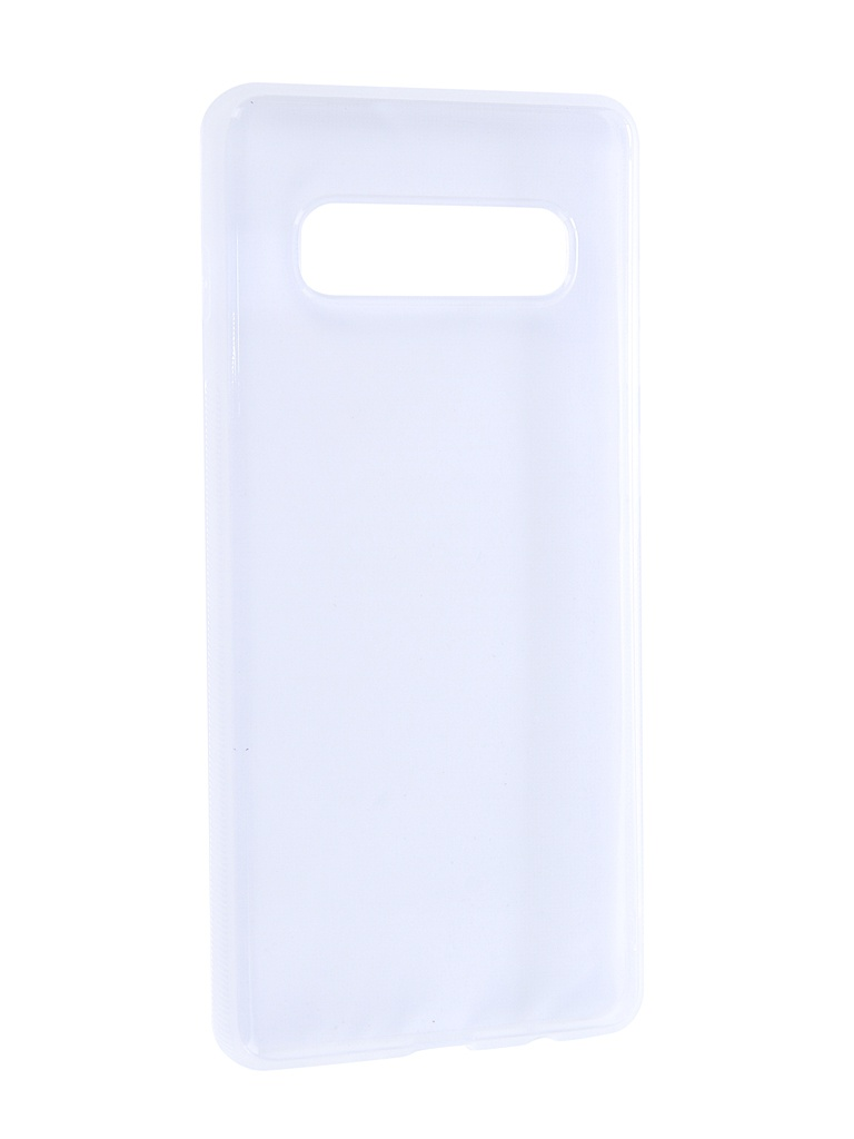 Аксессуар Чехол Brosco для Samsung Galaxy S10 Plus Silicone Transparent SS-S10P-TPU-TRANSPARENT