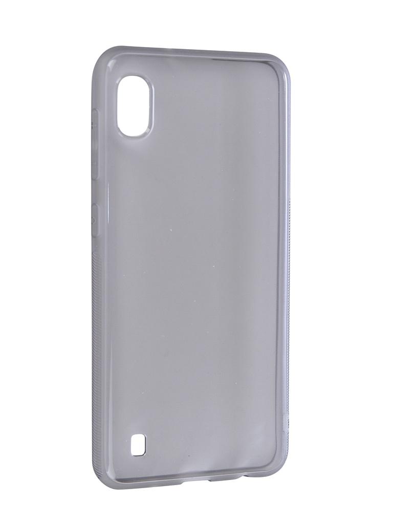 Аксессуар Чехол Brosco для Samsung Galaxy A10 Silicone Black SS-A10-TPU-BLACK fpu080h a10