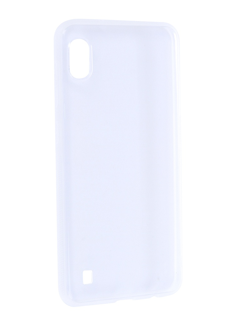 Чехол Brosco для Samsung Galaxy A10 Silicone Transparent SS-A10-TPU-TRANSPARENT