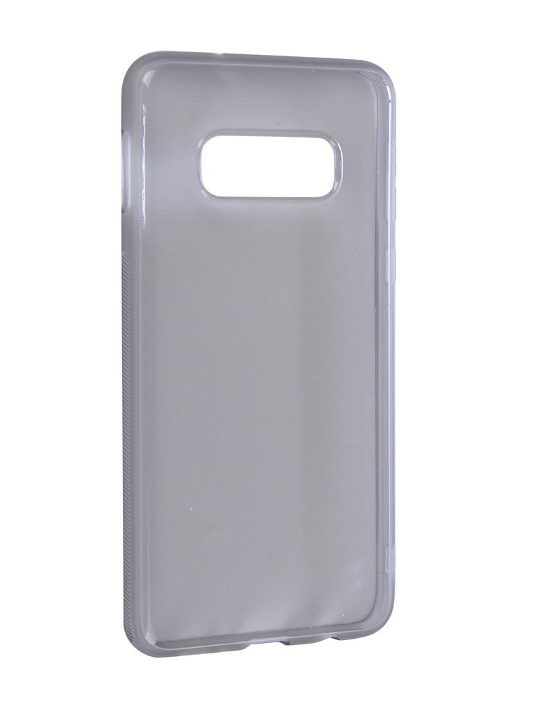 Чехол Brosco для Samsung Galaxy S10E Silicone Black SS-S10E-TPU-BLACK