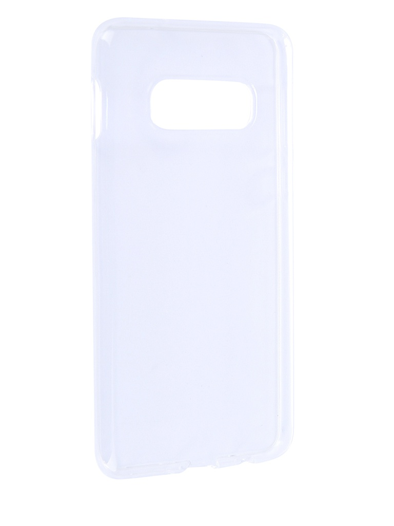 Чехол Brosco для Samsung Galaxy S10E Silicone Transparent SS-S10E-TPU-TRANSPARENT