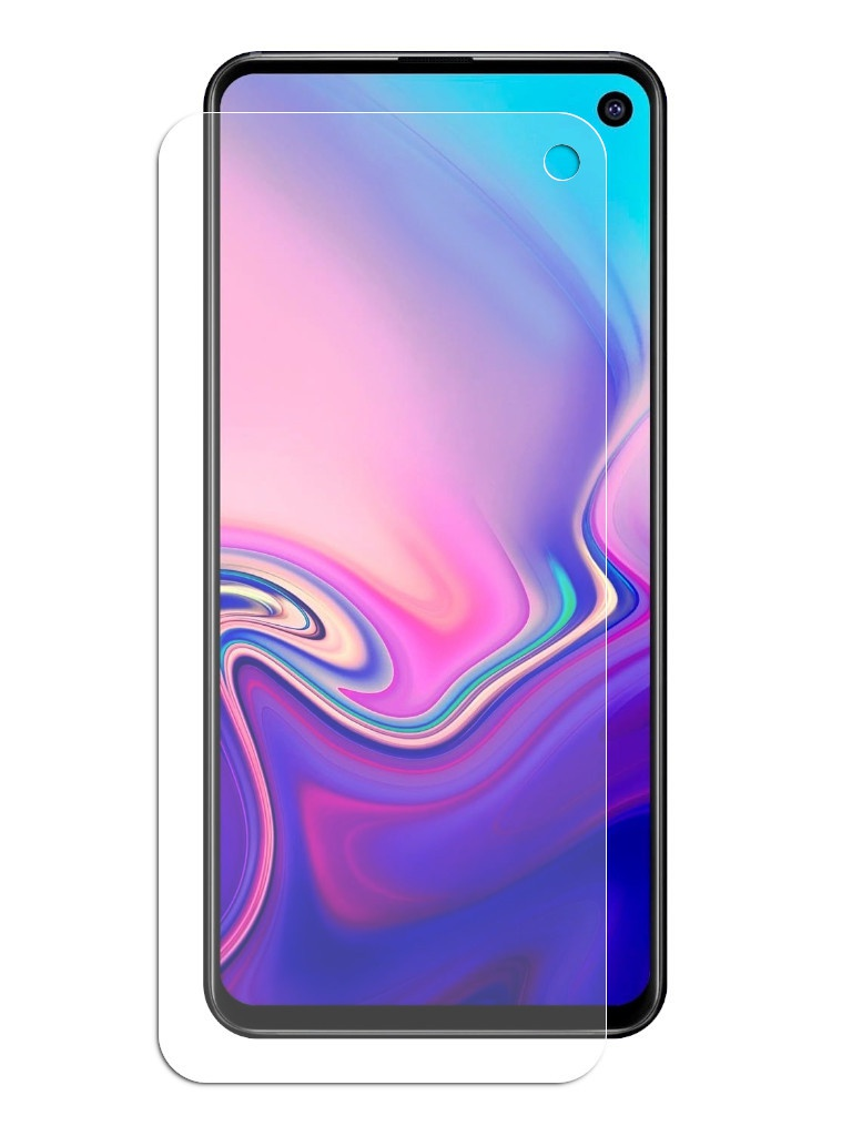 Защитное стекло Brosco для Samsung Galaxy S10E 0.3mm SS-S10E-SP-GLASS