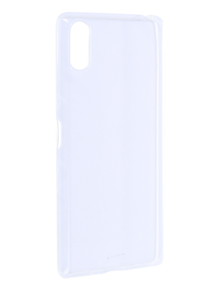 Аксессуар Чехол Brosco для Sony Xperia L3 Silicone Transparent L3-TPU-TRANSPARENT