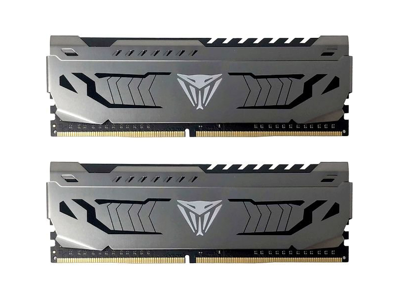 Модуль памяти Patriot Memory Viper Steel DDR4 DIMM 4400MHz PC-35200 CL19 - 16Gb KIT (2x8Gb) PVS416G440C9K