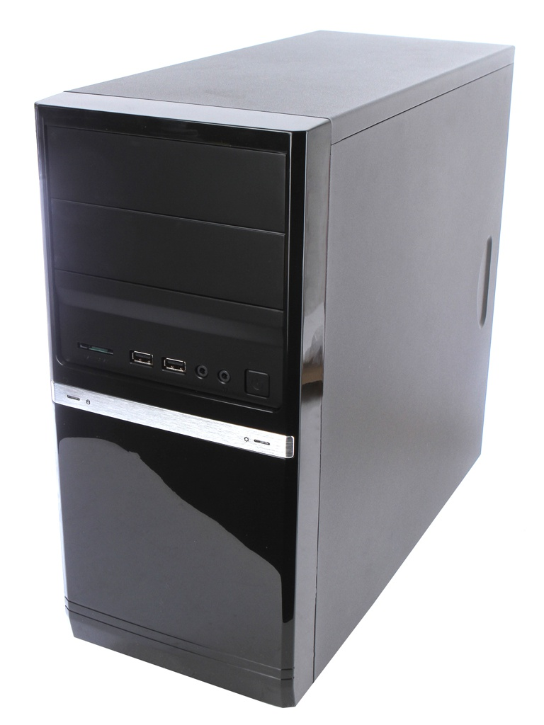 Корпус PowerCool S6006BK 500W