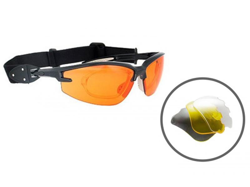Велоочки Kindavid S11885B Black-Yellow KIN_S11885B_black