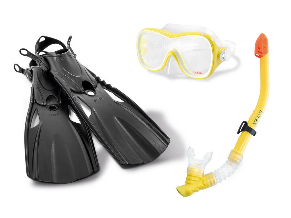 Комплект для плаванья Intex Wave Rider Sports Set 55658