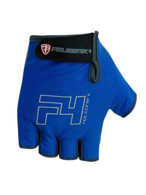 цена Велоперчатки Polednik F-4 р.12 XXL Blue POL_F-4_XXL_BLU онлайн в 2017 году