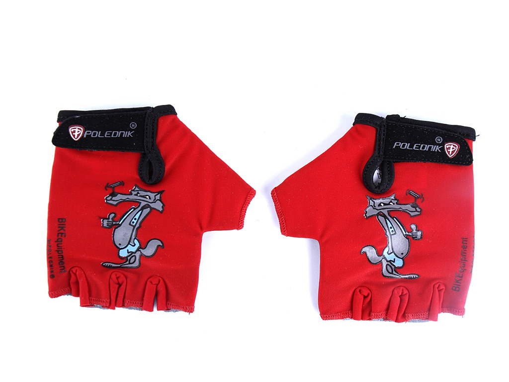 Велоперчатки Polednik Baby р.5 Red POL_Baby_5_RED