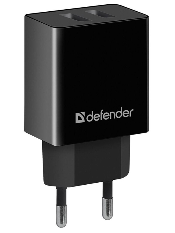 Зарядное устройство Defender UPA-22 2xUSB Black 83579