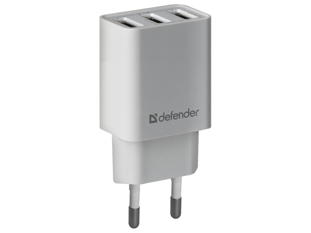 Зарядное устройство Defender UPA-31 3xUSB White 83587