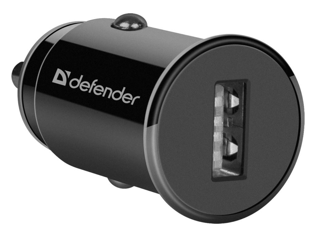 Зарядное устройство Defender UCA-12 1xUSB Black 83591