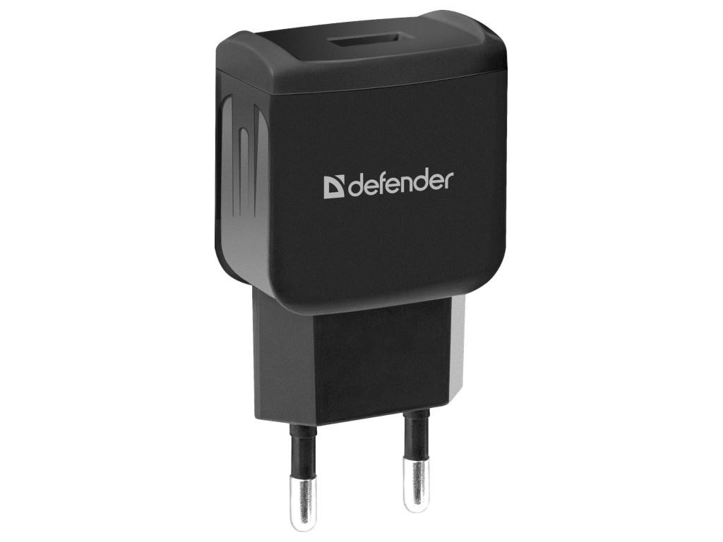 Зарядное устройство Defender EPA-02 Black 83838