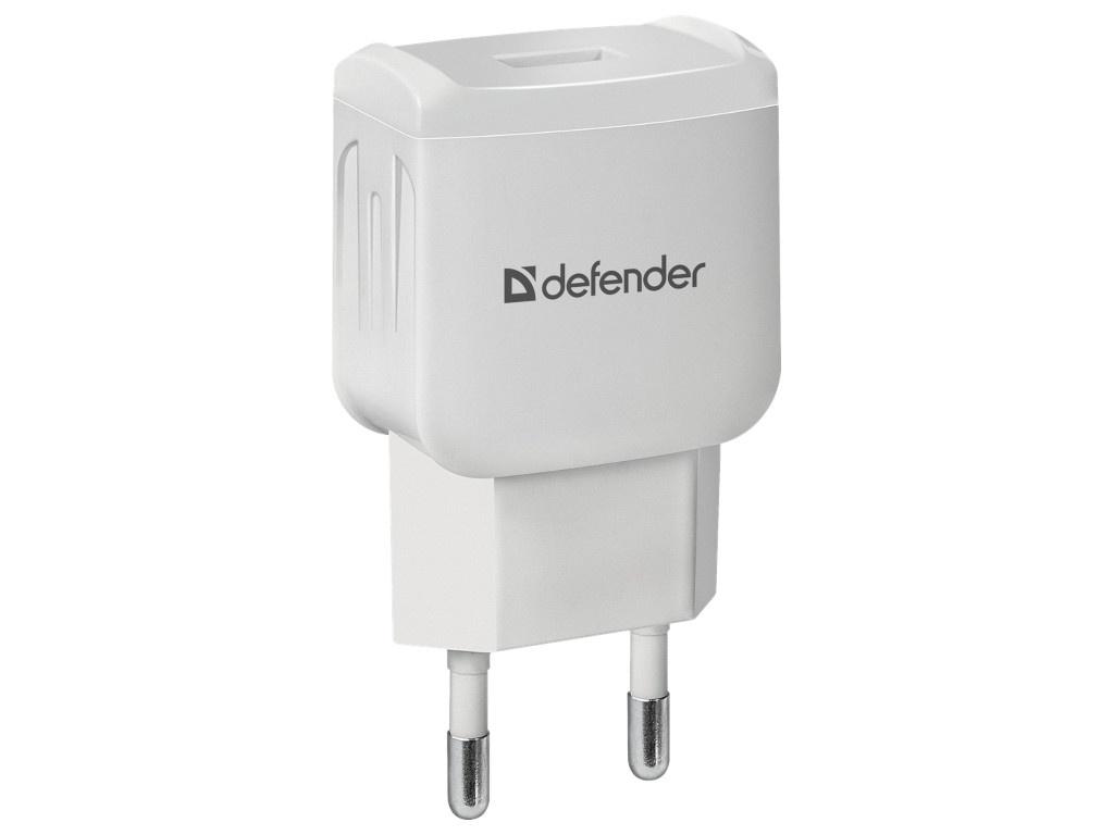 Зарядное устройство Defender EPA-02 White 83839