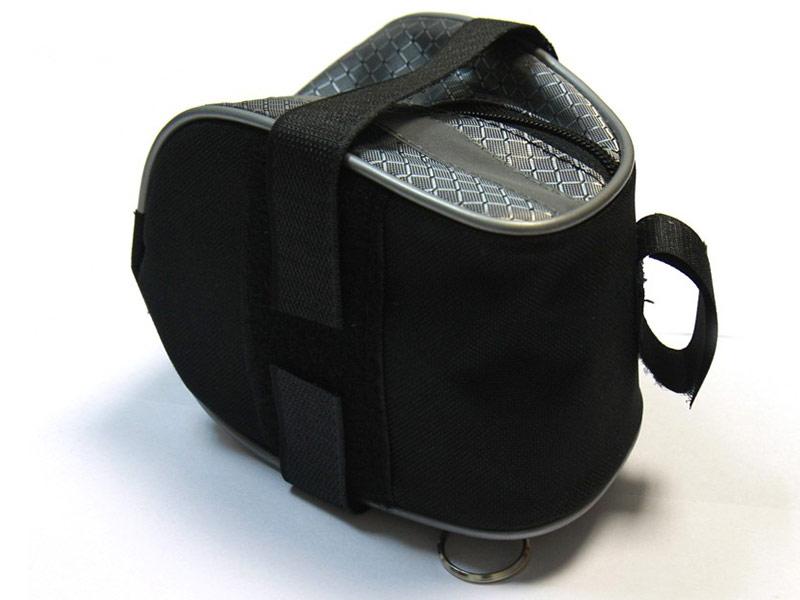 Велосумка Alpine Bags вс064.013.200 Black велосумка на раму roswheel 496l c5
