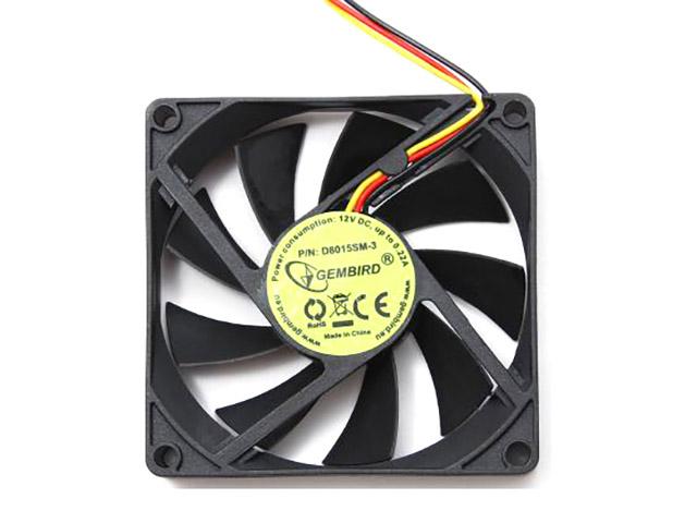 Вентилятор Gembird D8025HM-3