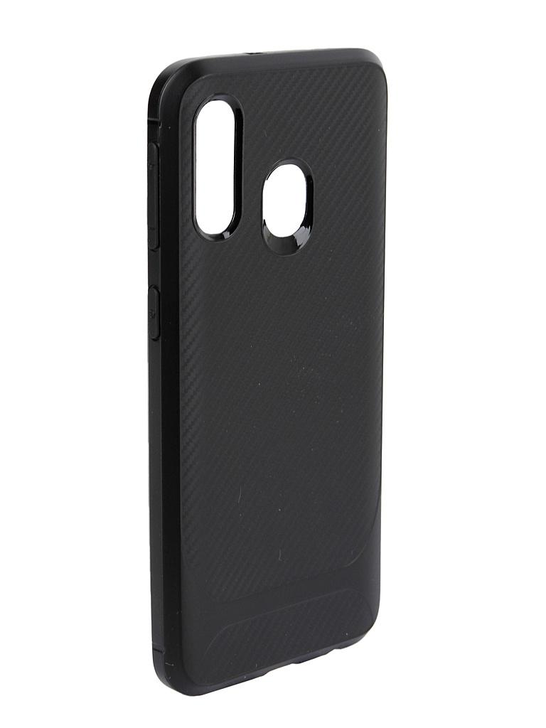 Аксессуар Чехол Activ для Samsung SM-A405 Galaxy A40 SC149 Black 100823 аксессуар чехол samsung sm g8508s galaxy s5 neo gecko black