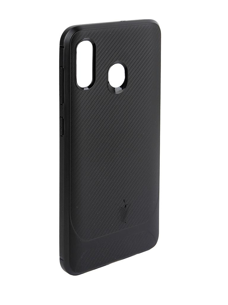 Аксессуар Чехол Activ для Samsung SM-A305 Galaxy A30 SC149 Black 100820 смартфон samsung galaxy a30 2019 sm a305 32gb black