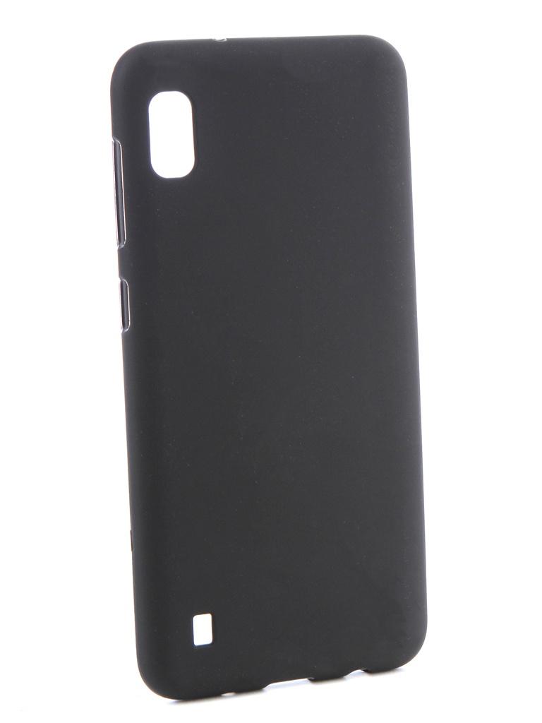 Аксессуар Чехол Svekla для Samsung A10 A105FD Silicone Black SV-SGA105FD-MBL