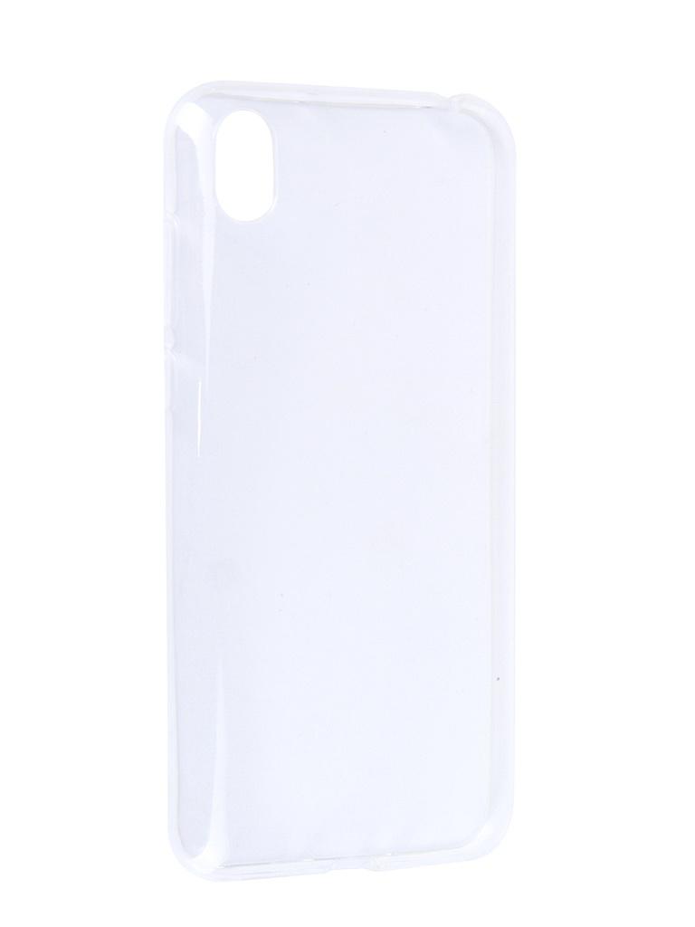 Аксессуар Чехол Svekla для Honor 8S 2019 Silicon Transparent SV-HWH8S-WH аксессуар чехол huawei honor 7x svekla silicone transparent sv hwh7x wh