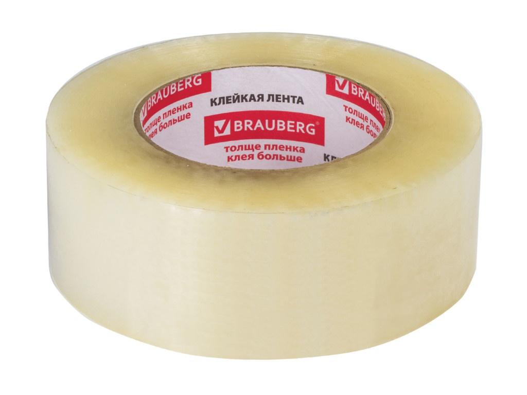 Клейкая лента Brauberg 48mm x 200m 440089 клейкая лента brauberg 440089 48мм x 200 м прозрачная 45 мкм