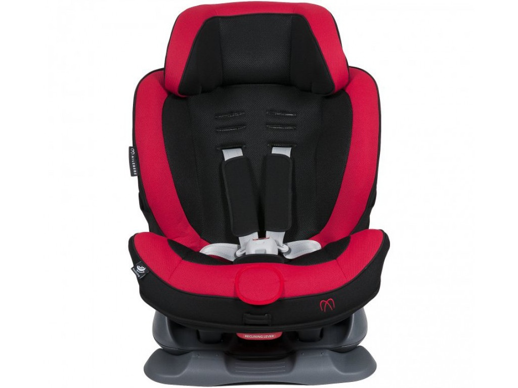 Автокресло Ailebebe Swing Moon Группа 1/2 Black-Red 118483 автокресло cybex solution x blue moon