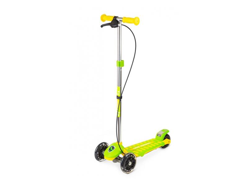 Самокат Small Rider Galaxy CZ Green-Yellow