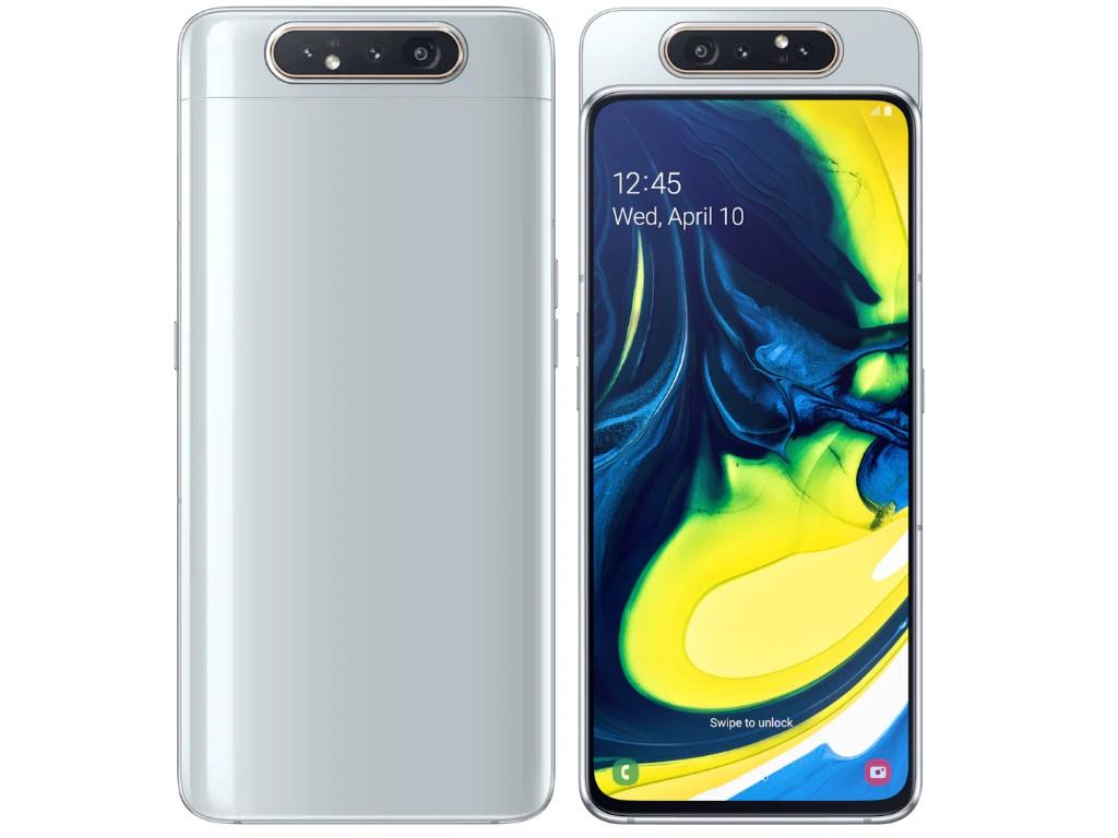 Сотовый телефон Samsung SM-A805F Galaxy A80 2019 Silver SM-A805FZSUSER
