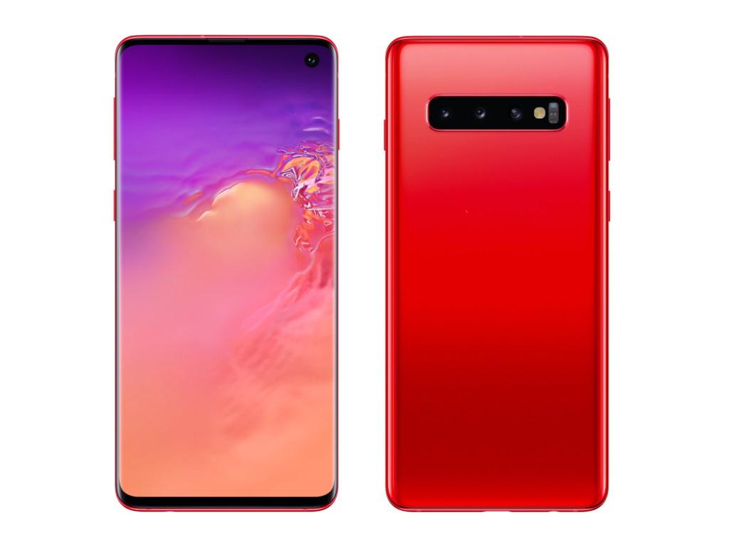 Сотовый телефон Samsung SM-G973F Galaxy S10 Garnet SM-G973FZRDSER