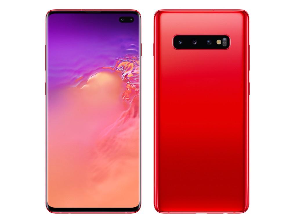 Сотовый телефон Samsung SM-G975F Galaxy S10 Plus Garnet SM-G975FZRDSER