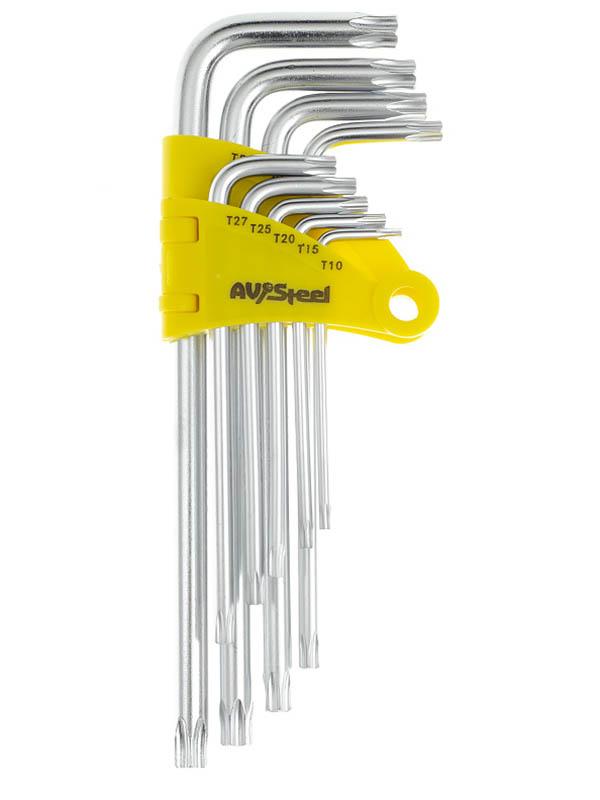 Набор ключей AV Steel Torx AV-368109